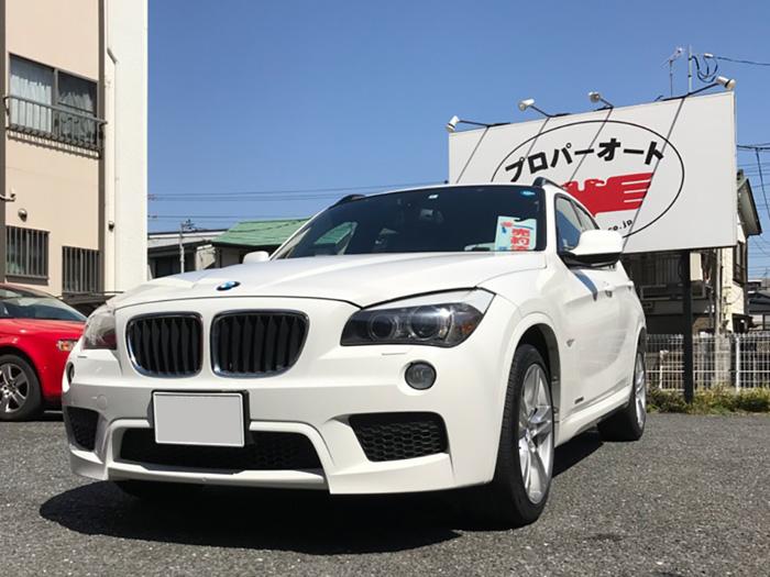 鎌倉市【中古車販売】BMW『X1 E84』 平成24年式