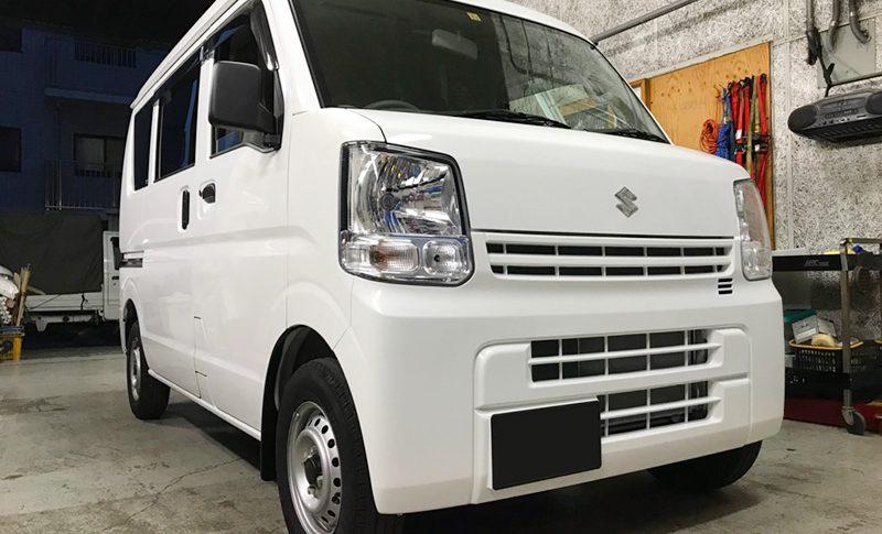 鎌倉【中古車販売】SUZUKI『エブリィバン』 平成29年式(走行距離2020km)