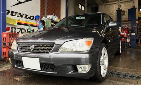 鎌倉の中古車販売はプロパーオートへ、トヨタ/アルテッツァ2WDをご成約いただきました。
