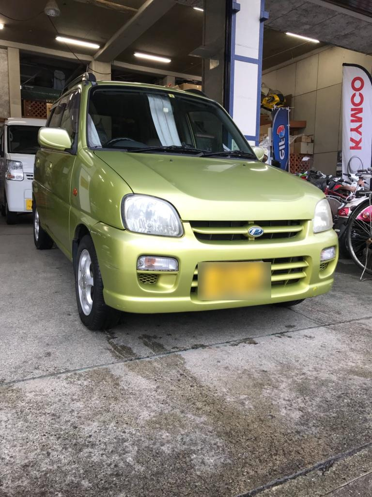 中古車販売 スバル『プレオ』平成11年式